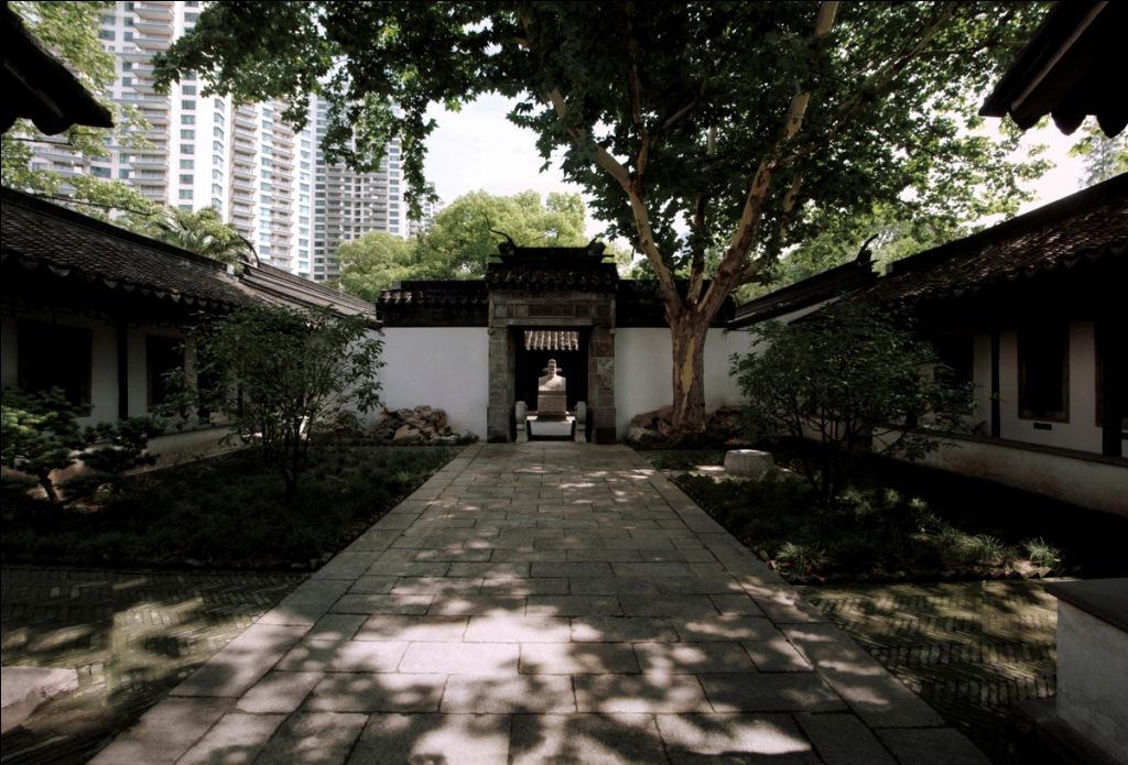 华泾镇的黄道婆纪念馆,是市区范围内保存的唯一能追溯到元代历史的
